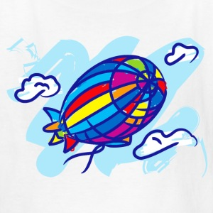 Airship_Journey - Kids' T-Shirt