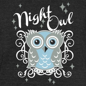 night owl T-Shirts - Unisex Tri-Blend T-Shirt by American Apparel