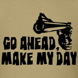 make_my_day_2 T-Shirts - Men's T-Shirt