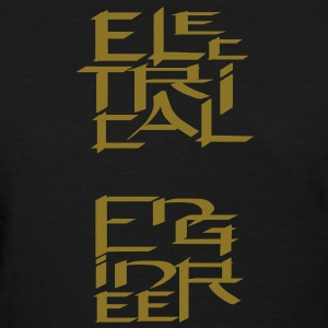 Electrical Engineer Character Women's T-Shirts - Women's T-Shirt