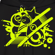Design ~ Charles Celebration NEON YELLOW HOODIE