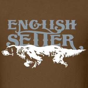 english_setter T-Shirts - Men's T-Shirt
