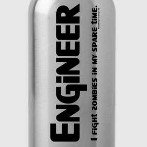 Engineer Zombie Fighter - Water Bottle
