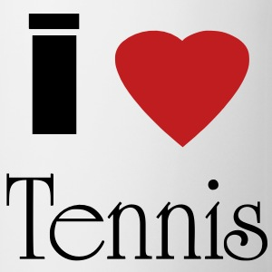 I heart Tennis - Coffee/Tea Mug