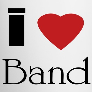 I heart band - Coffee/Tea Mug