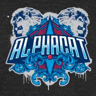 Design ~ Alphacat Tri-Blend Vintage Tee by American Apparel