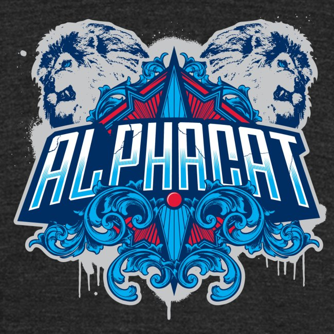 Alphacat Tri-Blend Vintage Tee by American Apparel