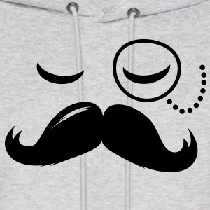 La Moustache Solo Fashionable Sir vintage funny style and popular cool boss Hoodies - Men's Hoodie