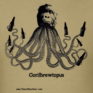 Gorilbrewtopus T-Shirt - Men's T-Shirt
