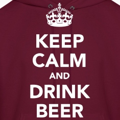 keep calm and drink beer Hoodies