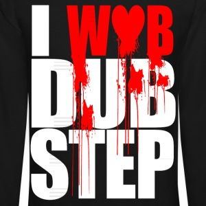 I WUB DUBSTEP I LOVE DUPSTEP Long Sleeve Shirts - Crewneck Sweatshirt