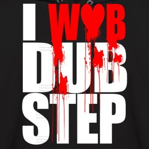 I WUB DUBSTEP I LOVE DUPSTEP Hoodies - Men's Hoodie