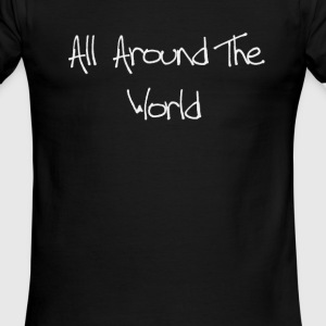 all around the world funny t shirt - Men's Ringer T-Shirt