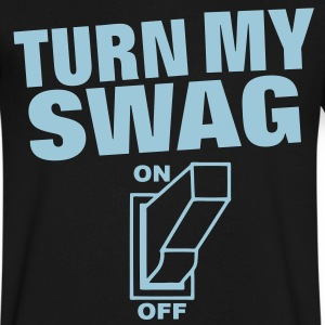 Turn My Swag On - Men's V-Neck T-Shirt by Canvas