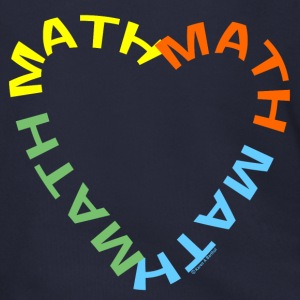 Math Text Heart   Zip Hoodies/Jackets - Men's Zip Hoodie