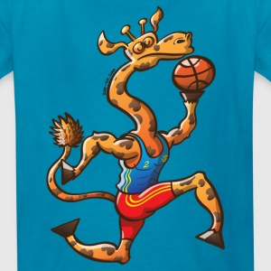 Olympic Basketball Giraffe Kids' Shirts - Kids' T-Shirt