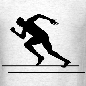Runner, Running, Sprinter T-Shirts - Men's T-Shirt
