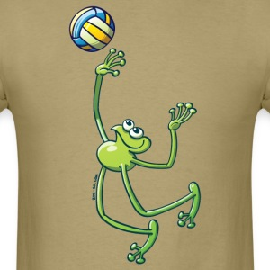 Olympic Volleyball Frog T-Shirts - Men's T-Shirt
