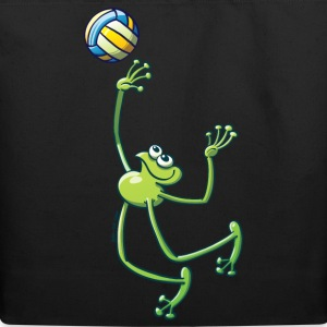 Olympic Volleyball Frog Bags  - Eco-Friendly Cotton Tote