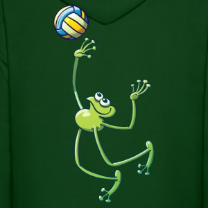 Olympic Volleyball Frog Hoodies - Men's Hoodie