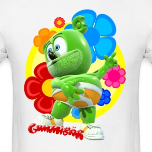 Gummibär Flowers T-Shirts - Men's T-Shirt