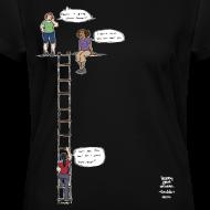 Design ~ Overhanging Cliff T-Shirt - V-Neck