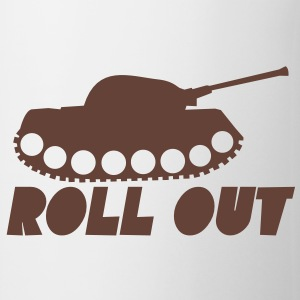 Military ROLL out funny tank commander design  Accessories - Coffee/Tea Mug