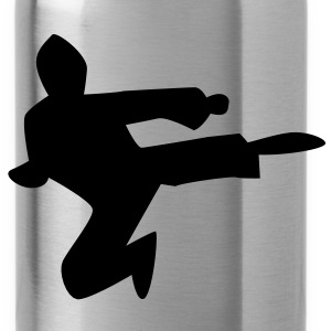 NINJA karate chop martial arts kungfu kick! male Accessories - Water Bottle