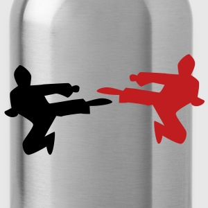 NINJA karate chop martial arts kungfu kick! Accessories - Water Bottle