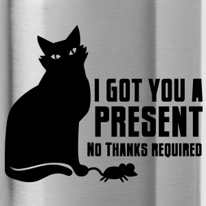 CAT I got a present for you- no thanks required Accessories - Water Bottle