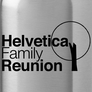 helvetica family reunion Accessories - Water Bottle