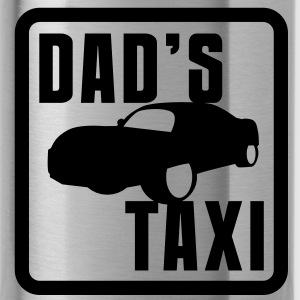 SPORTY CAR speed Dad's TAXI Accessories - Water Bottle