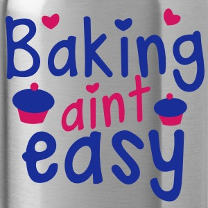 baking aint easy with cute little cupcakes hearts Accessories - Water Bottle