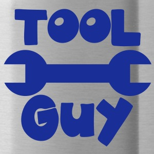 TOOL GUY with a spanner good for a mechanic! Accessories - Water Bottle