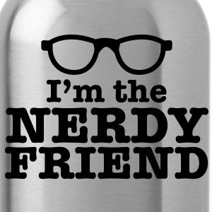 I'm the NERDY friend with cool retro funky glasses Accessories - Water Bottle