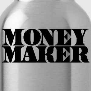 money maker in cash font Accessories - Water Bottle
