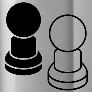 two pawns CHESS pieces Accessories - Water Bottle