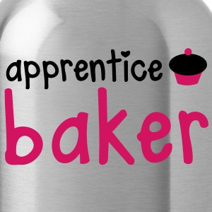apprentice baker with cute little cupcake! Accessories - Water Bottle