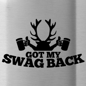 GOT MY SWAG BACK with beers and a stag Accessories - Water Bottle