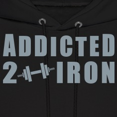 Addicted 2 Iron Hoodies