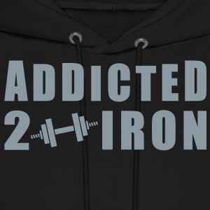 Addicted 2 Iron Hoodies - Men's Hoodie