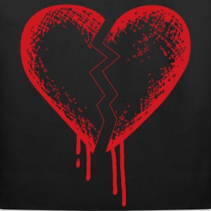 Broken heart - Eco-Friendly Cotton Tote