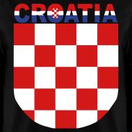 Design ~ Sahovnica Shirt Croatia Hrvatska 3 color