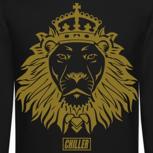Chiller The King Lion Long Sleeve Shirts - Crewneck Sweatshirt