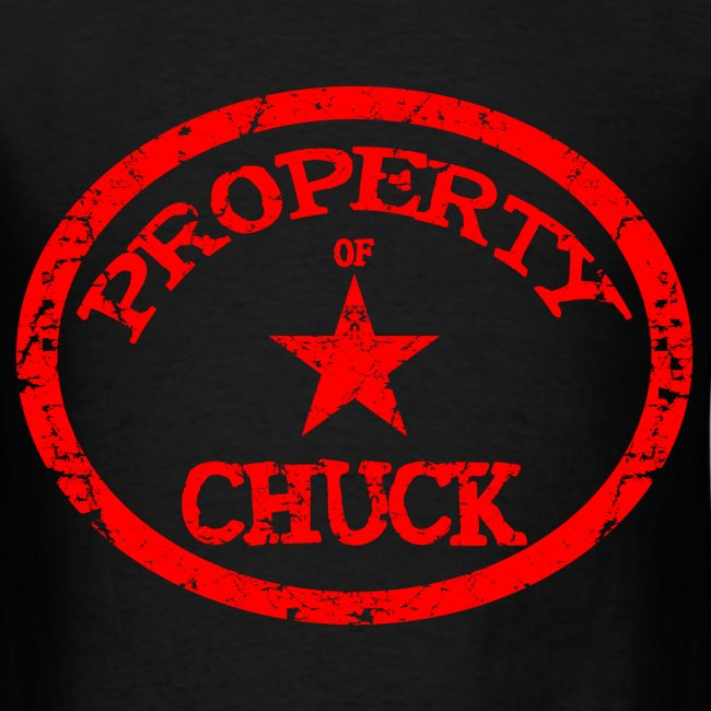 Property Of Chuck Shirt