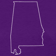 Design ~ Alabama Outline