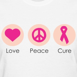 Love Peace Cure Women's T-Shirts - Women's T-Shirt