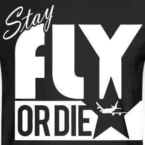 Stay Fly Or Die Long Sleeve Shirts - stayflyclothing.com - Men's Long Sleeve T-Shirt