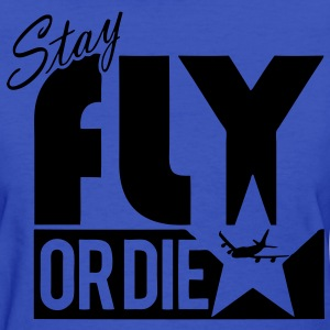 Stay Fly Or Die Women's T-Shirts - stayflyclothing.com - Women's T-Shirt