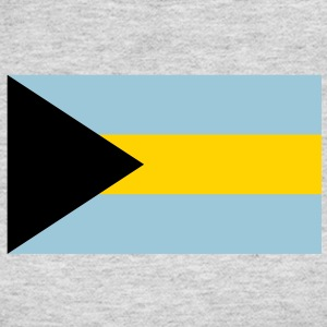 bahamas flag Long Sleeve Shirts - Women's Long Sleeve Jersey T-Shirt